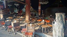 Restaurant at chatuchak market Stock Photos