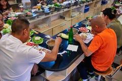 Restaurant chaud chinois Pékin Chine de pot Photos libres de droits