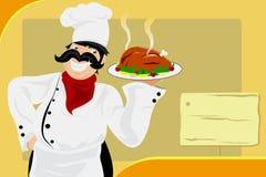 Restaurant chef Stock Photo