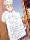 Restaurant Chef Board royalty free stock photos