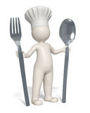 Restaurant chef icon Stock Photography