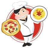 Restaurant Chef Royalty Free Stock Photo