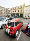 Restaurant chic de Hall et de Woodhouse à Bath, Royaume-Uni avec Photographie stock