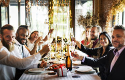 Restaurant Chilling Out Classy Lifestyle Reserved Concept Royalty Free Stock Images