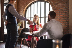 Restaurant Chilling Out Classy Lifestyle Reserved Concept Stock Photos