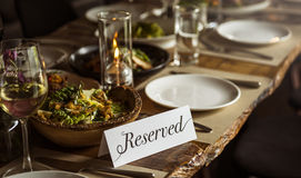 Restaurant Chilling Out Classy Lifestyle Reserved Concept Royalty Free Stock Photo