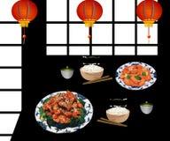 Restaurant chinois Photographie stock