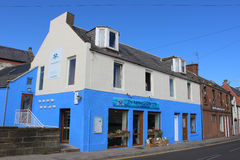 Restaurant, Chip Bar, rue de Ladybridge, Arbroath Photographie stock libre de droits