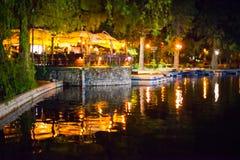Restaurant in Cismigiu park Royalty Free Stock Photography