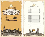 Restaurant city stock illustration