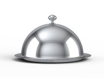 Restaurant cloche Stock Image