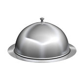 Restaurant cloche with lid Stock Image