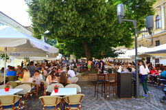 Restaurant in Cluj Napoca Royalty Free Stock Photo
