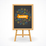 Restaurant concept. Vector Royalty Free Stock Images