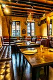 Restaurant confortable 2 d'ambiance images libres de droits