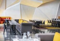 Restaurant contemporain à Dublin, Irlande photo libre de droits