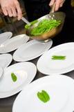 Restaurant cooking Stock Photo