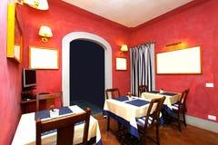 Restaurant corner Stock Photography