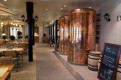 Restaurant cruise ship Royalty Free Stock Photo