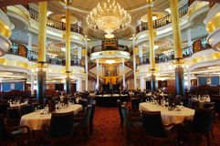 Restaurant in Cruise Stock Photos
