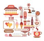 Restaurant d'aliments de préparation rapide Photographie stock libre de droits