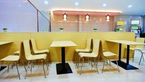 Restaurant d'aliments de préparation rapide photo stock