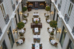 Restaurant d'hôtel Photographie stock