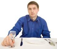 restaurant d'invité en verre photos libres de droits