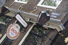 Restaurant D'Vijff Vlieghen Spuistraat Amsterdam Royalty Free Stock Images