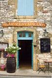 Restaurant dans la région de Dordogne de la France Photo libre de droits