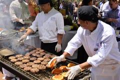 Restaurant Days at Rockefeller Center stock images