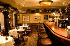 Restaurant de bar de cru photographie stock