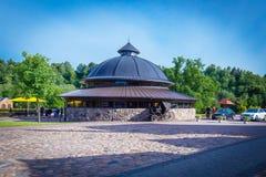Restaurant de Belmontas à Vilnius, Lithuanie photographie stock libre de droits