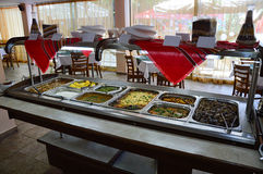 Restaurant de buffet Images stock