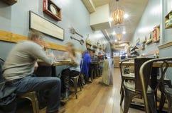 Restaurant de café de San Francisco Images libres de droits