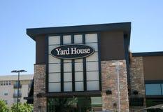 Restaurant de Chambre de yard photo stock
