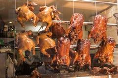 Restaurant de Chinois du rôti duck Images libres de droits