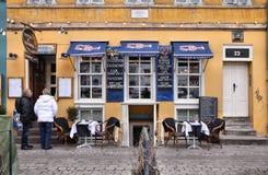Restaurant de Copenhague Photos stock