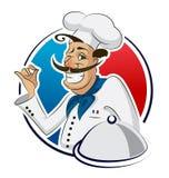Restaurant de cuisinier Image stock