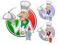 Restaurant de cuisinier. Images stock