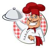 Restaurant de cuisinier Photographie stock