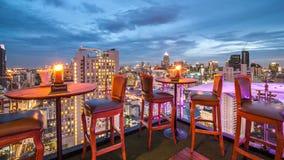Restaurant de dessus de toit Images libres de droits