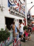 Restaurant de fruits de mer de plage de Rehoboth Photographie stock libre de droits