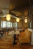 Restaurant de Jamie Oliver à Dubaï image libre de droits