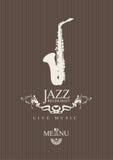 Restaurant de jazz Photos stock