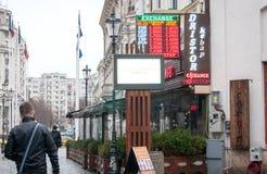 Restaurant de kebap de Dristor Photos stock