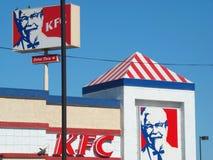 Restaurant de Kfc Photographie stock libre de droits