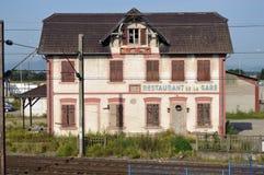 Restaurant de la Gare Photos stock