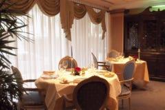 Restaurant de luxe Photos libres de droits