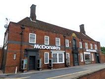 Restaurant de mcdonald chez Brent Park, 139 route circulaire du nord, Londres photos stock